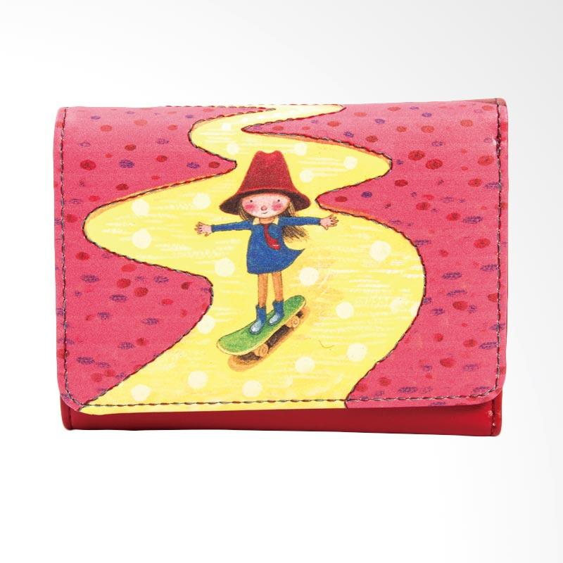 IPC Mansion Selected JIMMY Skateboard Girl Short Purse Dompet Wanita