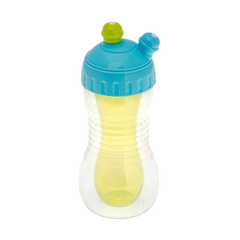 Brother Max 2in1 Drinks Cooler Sports Bottle Botol Minum Anak - Blue Green