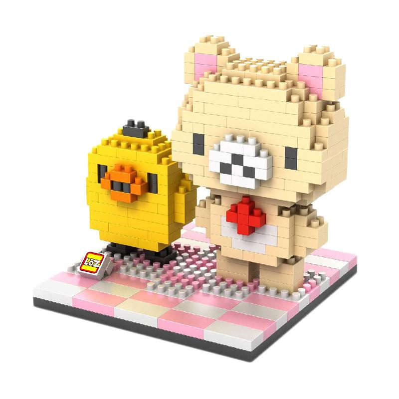Loz Diamond Block Large Gift 9436 Mainan Mini Blocks