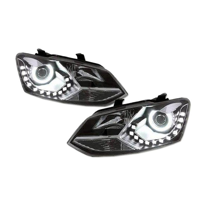 Eagle Eyes Headlamp Lampu Depan for VW Volkswagen Polo