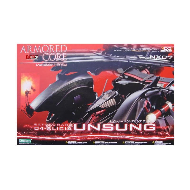 Kotobukiya Armored Core Rayleonard 04-Alicia Unsung Model Kit [1:72]
