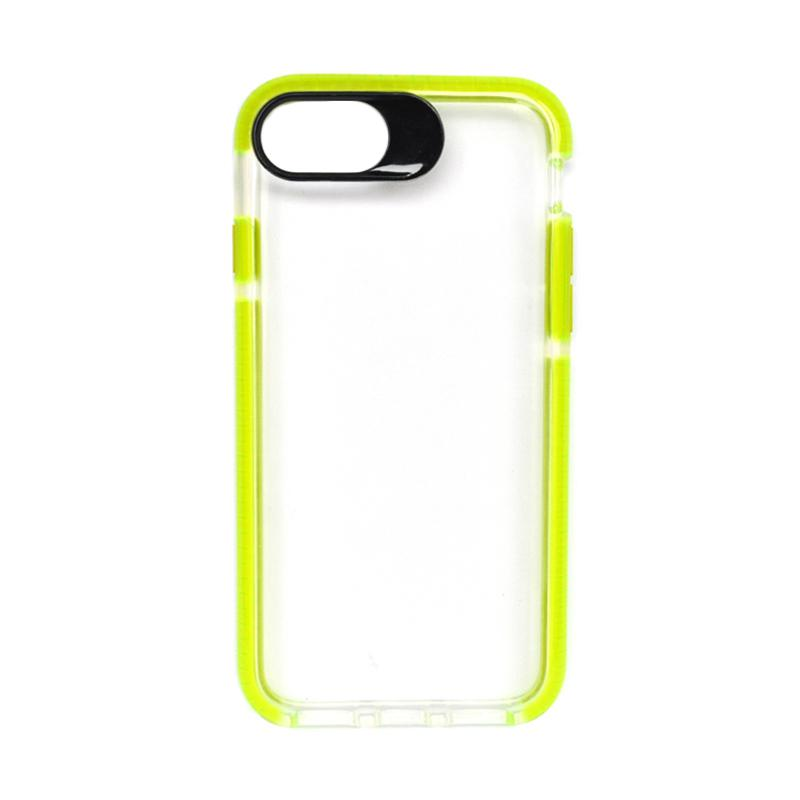 SMILE Big Eye Softcase Casing for iPhone 8 - Green