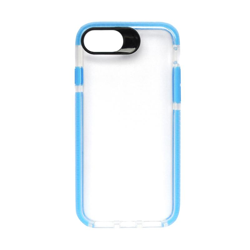 SMILE Big Eye Softcase Casing for iPhone 8 - Blue