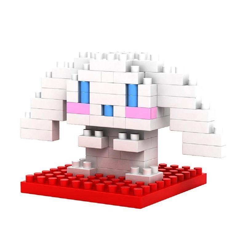 Loz Gift Small 9102 Cat Mainan Blok & Puzzle