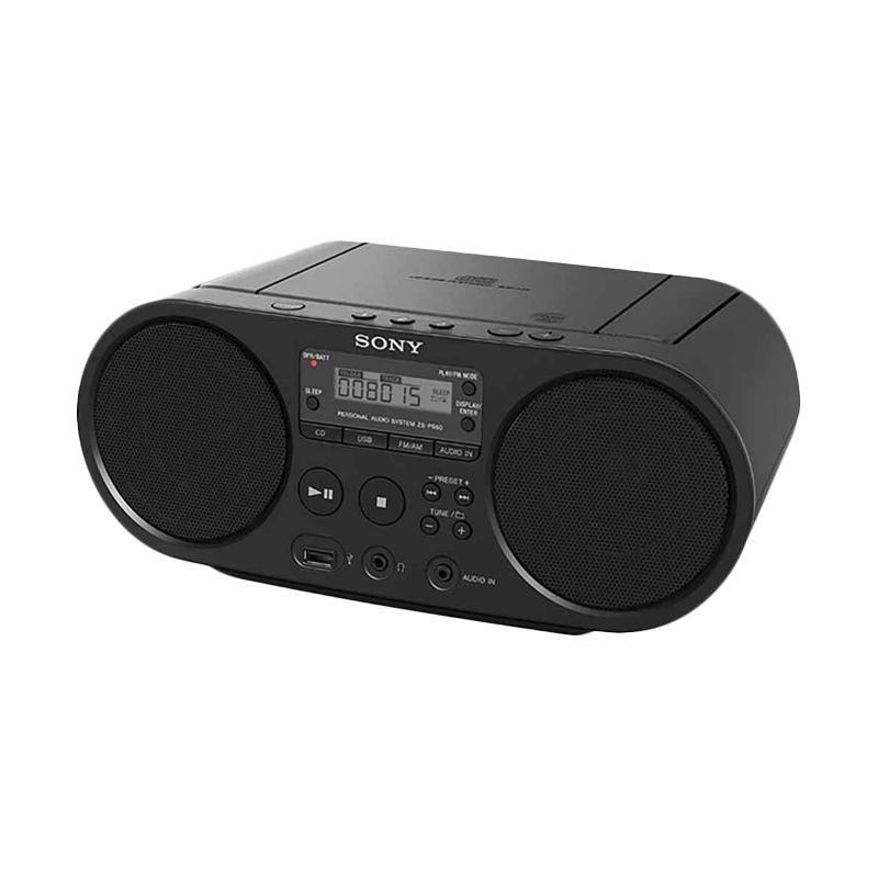 SONY ZS-PS50 CD Boombox with USB Playback - Hitam