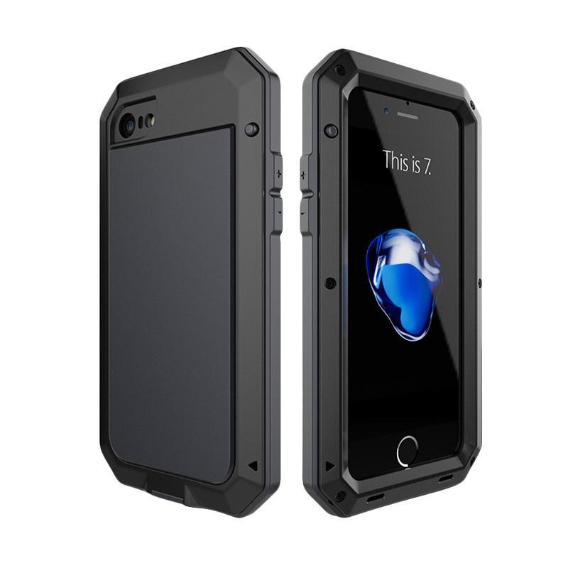 Lunatik Luxury Metal Armor Shockproof and Waterproof Casing for iPhone 6 - Black