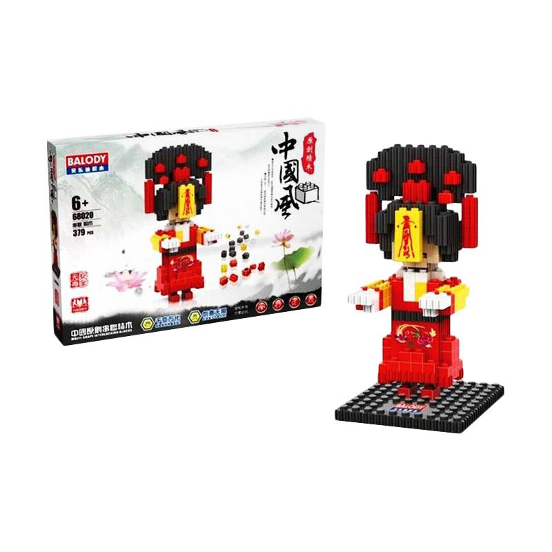 Balody 68020 Woman Chinese Vampire Mini Blocks