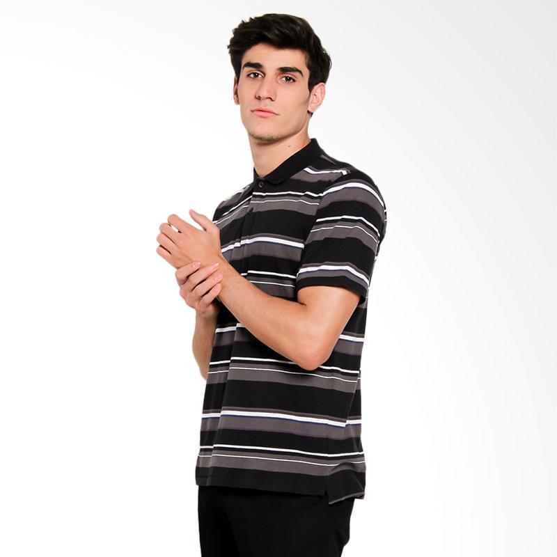 harga Quiksilver Decay Stripe PO M KTTP Polo Shirt Pria - Anthracite Solid [UQYKT03163-KVJ0] Blibli.com