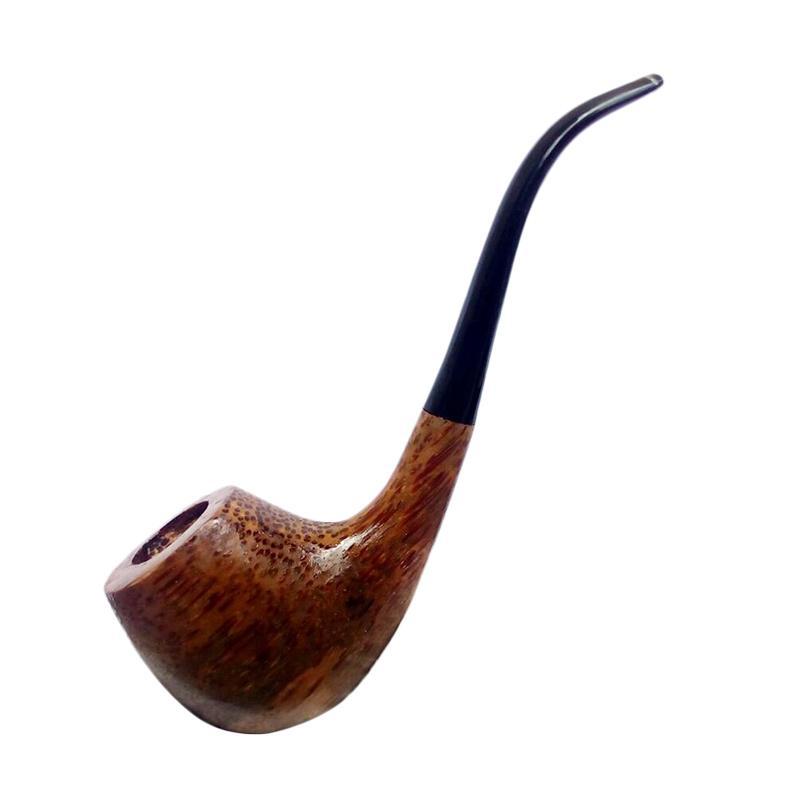 Jogjakhas Kayu Kelapa Tanduk Kerbau Pipa Rokok Tembakau