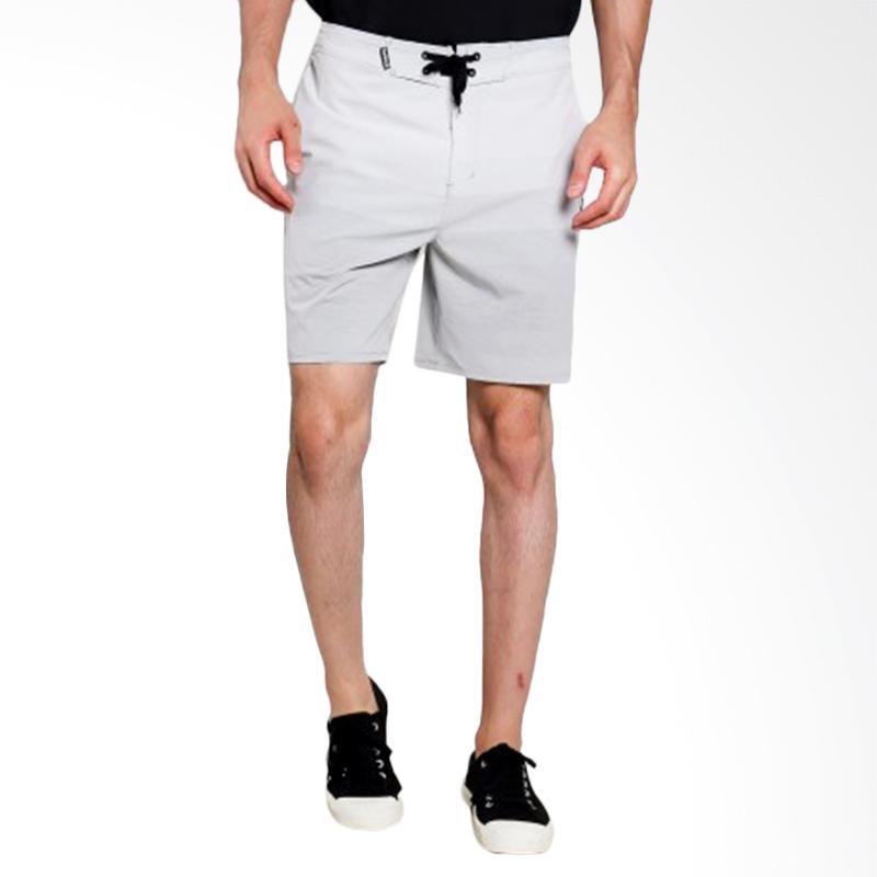 Hurley Phntm Cassis Bchsd Boardshort Celana Pendek Pria - Cool Grey [AMBSCSBS_06B]