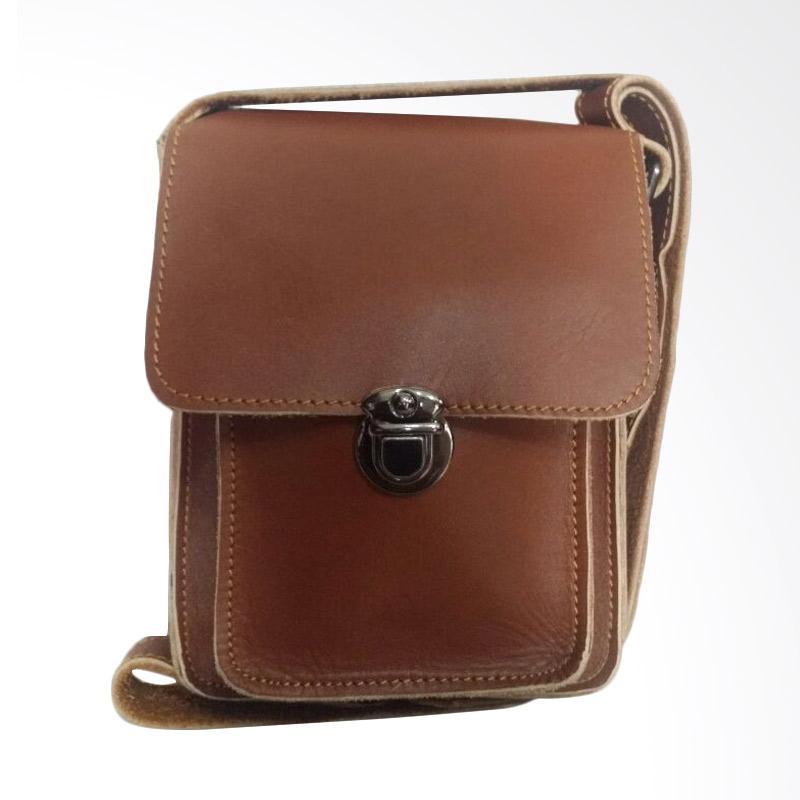 Hunter Design Tas Selempang Pria - Brown [0129]