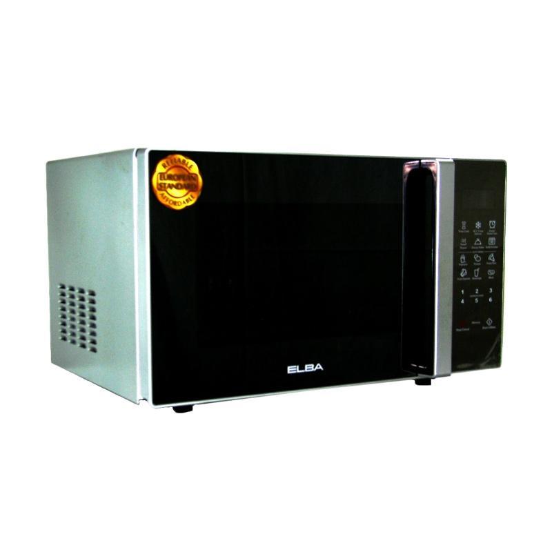 harga Daily Deals - Elba EG-9030SL Grill Microwave - Silver Metalic [30 L] Blibli.com