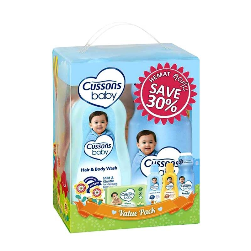 Cussons Baby Value Pack - Blue