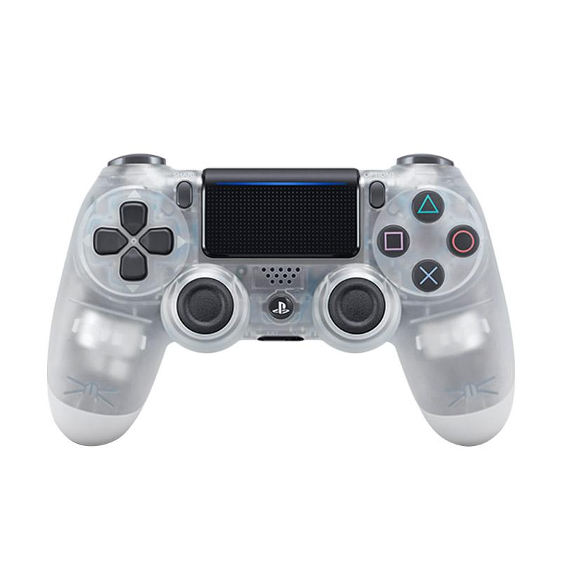 SONY DualShock 4 V2 Wireless Controller Crystal Clear White Garansi Sony Indonesia 1 tahun