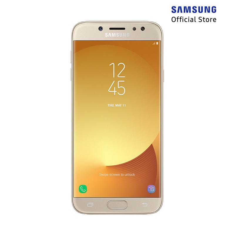 Samsung Galaxy J7 Pro Smartphone - Gold [32GB/ 3GB]