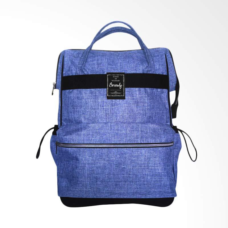 BEREADY BP 5014 Be Ready Backpack Tas Pria - Blue