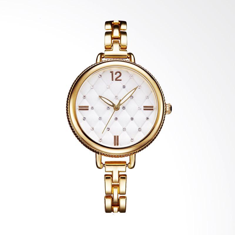 SHENGKE SK0025J Diamond Luxury Fashion Ladies Watch Jam Tangan Wanita