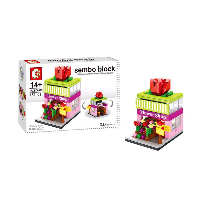 Sembo Block Flower Shop Blocks & Stacking Toys
