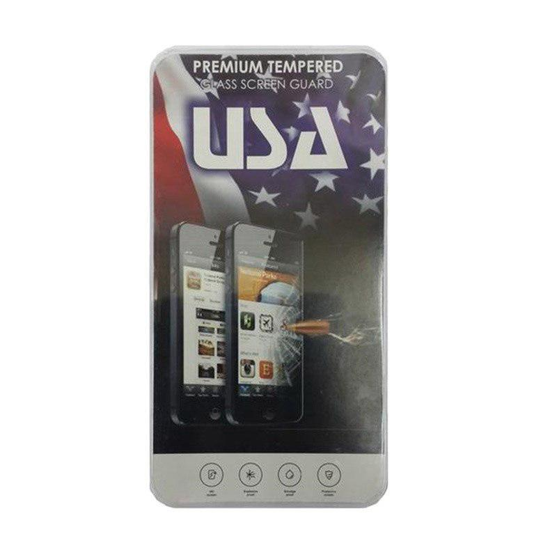 Jual USA Tempered Glass Screen Protector for Smartfren Andromax L Online - Harga & Kualitas Terjamin