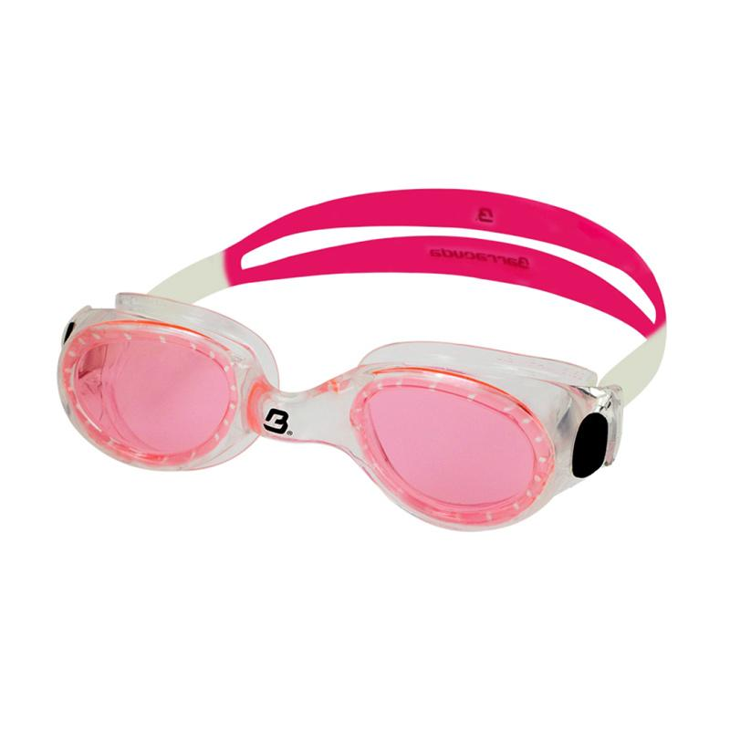 Barracuda FLITE One Piece Frame Anti Fog UV Protection Kacamata Renang - Pink [#8420]
