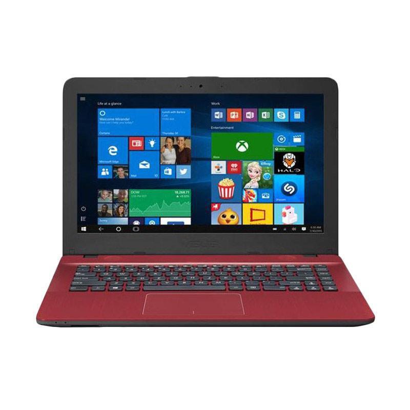 harga WEB_ASUS VIVOBOOK MAX X441NA-BX403T Notebook - Red [N3350/4 GB/500 GB/DVD-RW/14