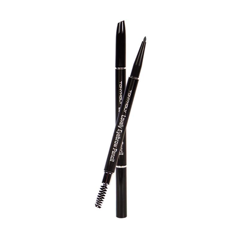 Tony Moly Lovely Eyebrow Pencil - #01 Black [0.2 g]