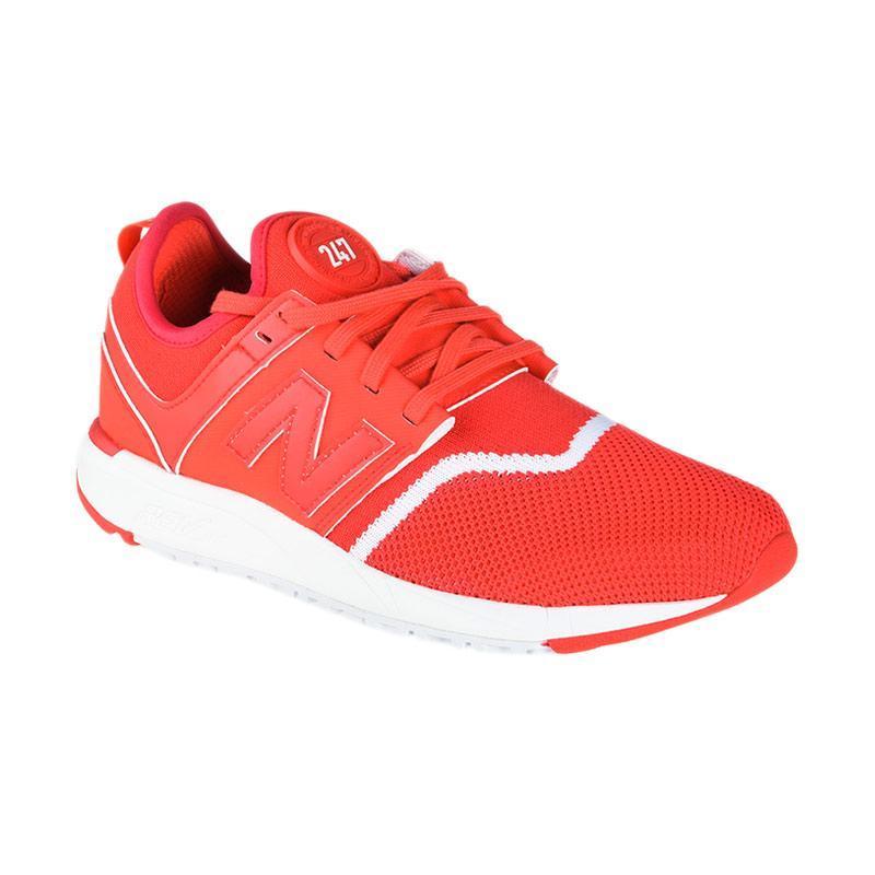 FS - New Balance Women Lifestyle 247 Sport Sepatu Olahraga Wanita - Orange [NEWWRL247EC]