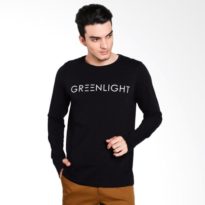 Greenlight Men 6712 T-Shirt Pria - Black