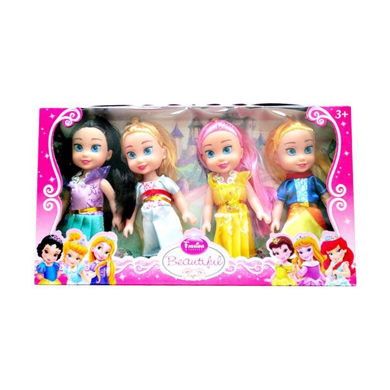 Jual PRINCESS Beautiful Figure Mini Dolls Set Boneka Mainan Anak  4 pcs   Online - Harga   Kualitas Terjamin  932ab6eb2c