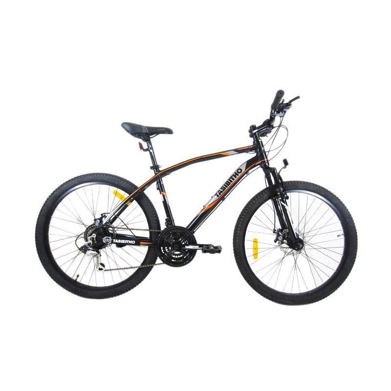 Tabibitho Mischef 2.0 Sepeda MTB - Hitam [24 Inch]