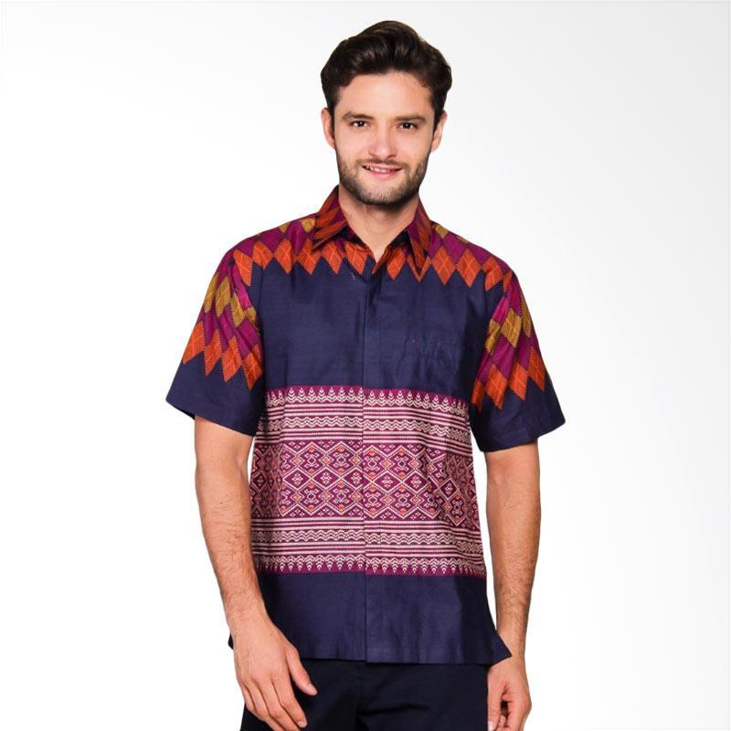 Adiwangsa Model Slim Fit Modern Baju Kemeja Batik Pria [016]