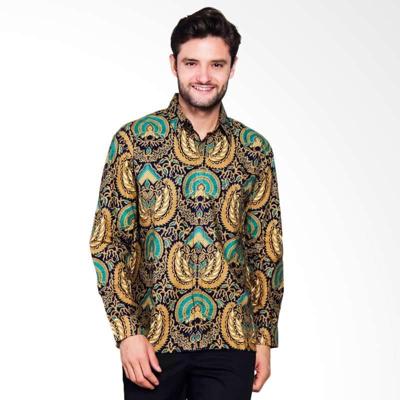 Adiwangsa Model Baju Slim Fit Kemeja Batik Modern Pria [022]