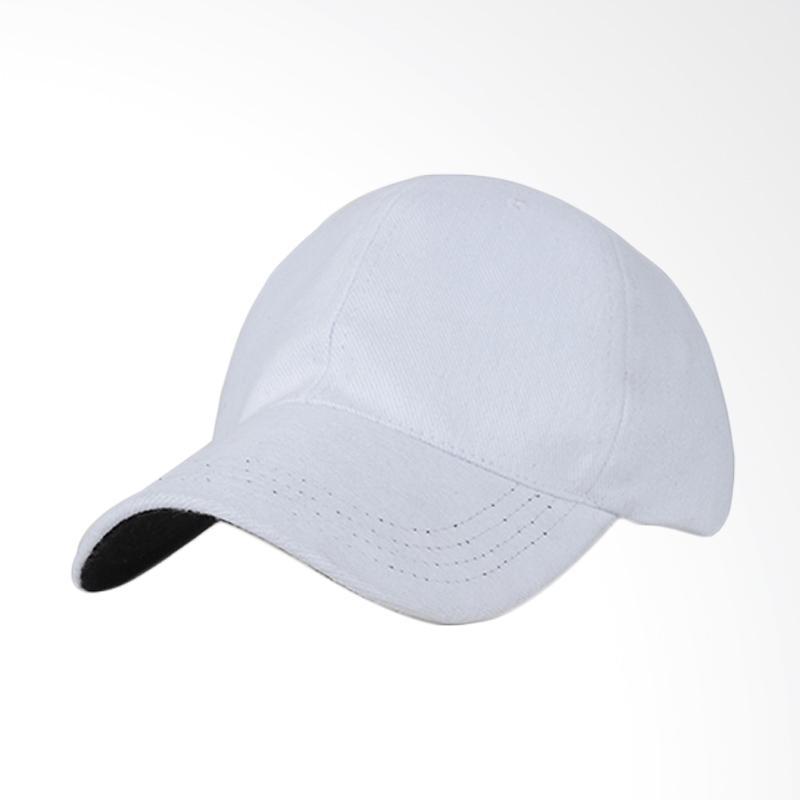 Jual Topi Putih Polos Terbaru - Harga Murah  684372c908