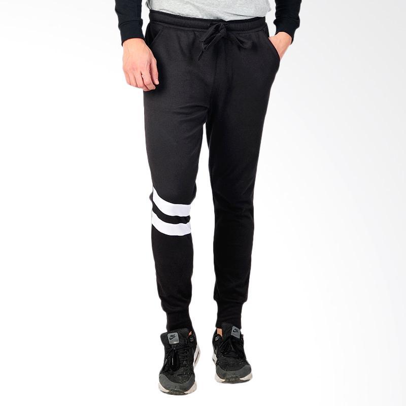 SJO & SIMPAPLY Winter Men's Jogger Pants - Black