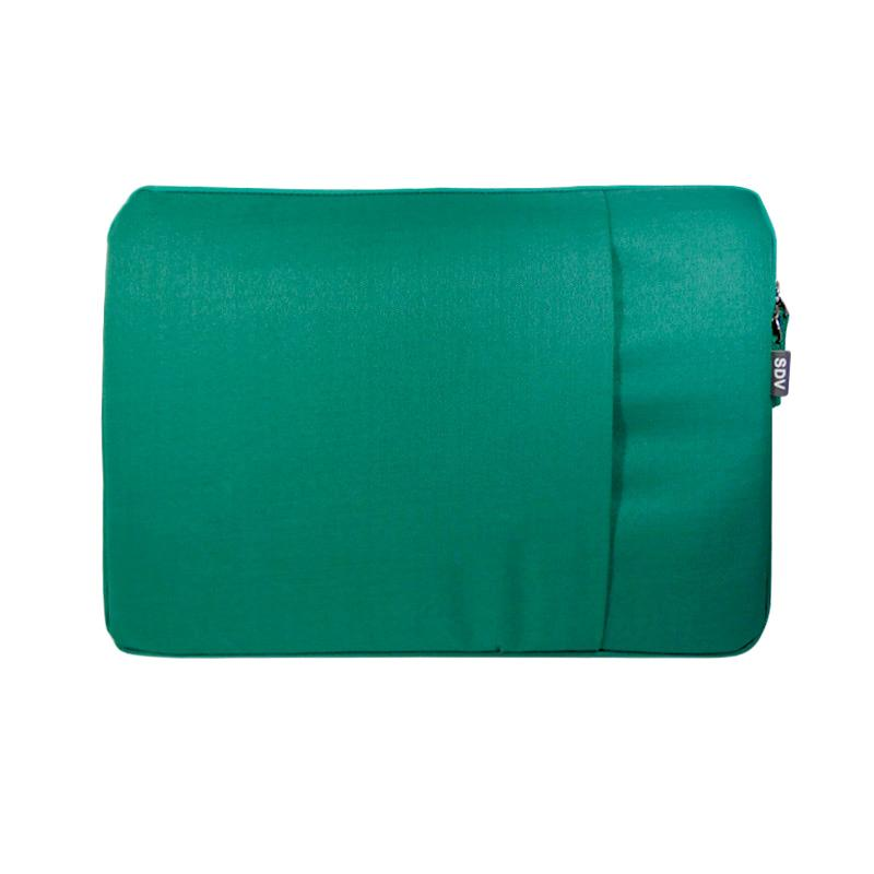 SDV LS-101 Laptop Sleeve Tas Laptop - Hijau Tosca [15 Inch]