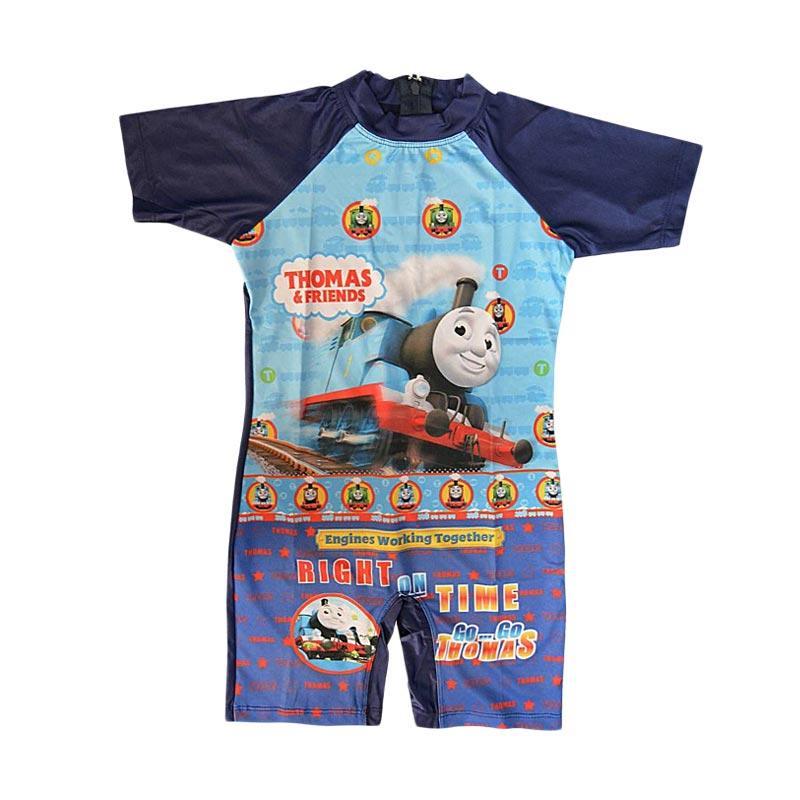 harga Nice Baby Motif Thomas Friends Baju Renang Anak - Biru Dongker Blibli.com