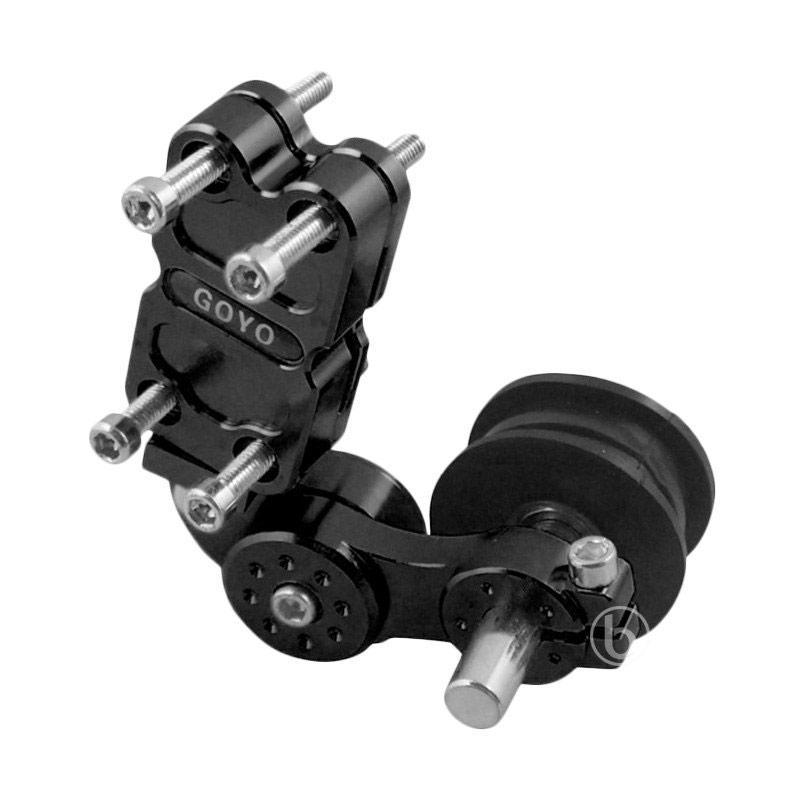 Goyo CNC Tensioner Stabiliser Penahan Rantai Motor for Supra X 100 - Hitam