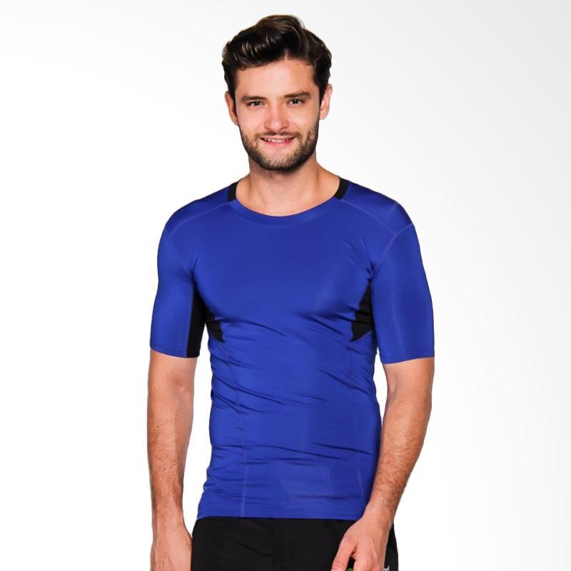 ZcoLand Fast Dry Sport Pakaian Fitness Pria - Blue [Z1K002]