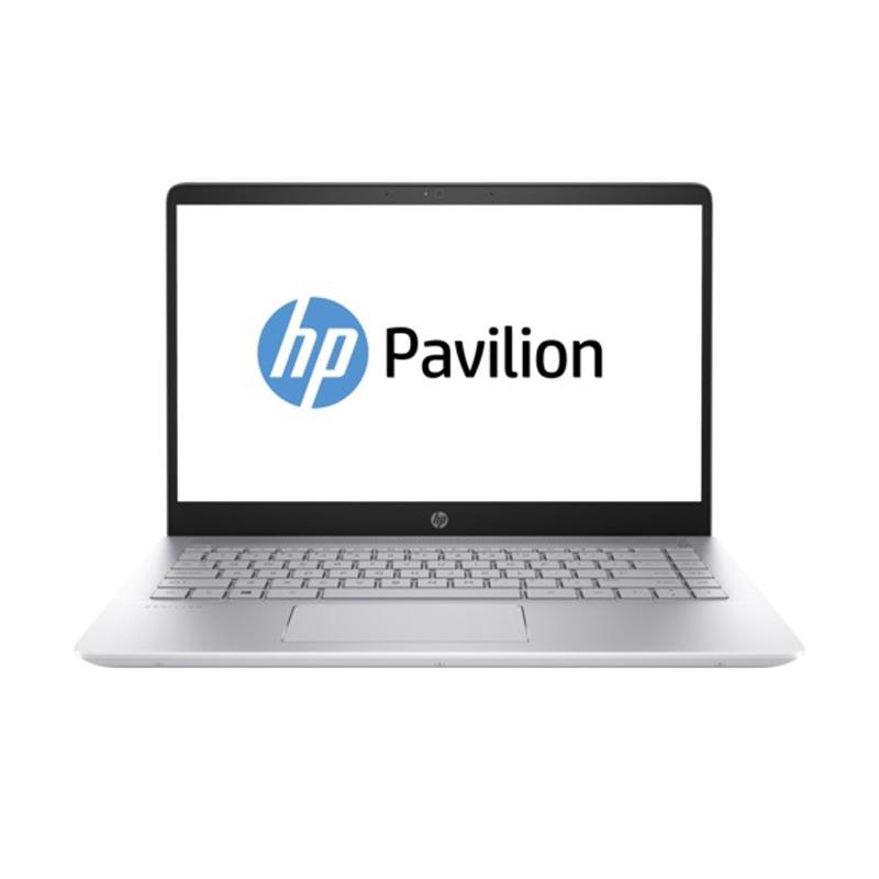 harga WEB_HP PAVILION 14-BF158TX Notebook - Silver [i7-8550U/8 GB/128 GB + 1 TB/940MX 4 GB/14