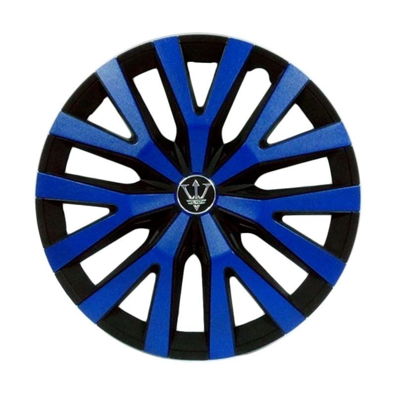 SIV Sport Wheel Cover Evolution Design WD3-1BL-14 Inch Dop Roda Mobil - Black Blue