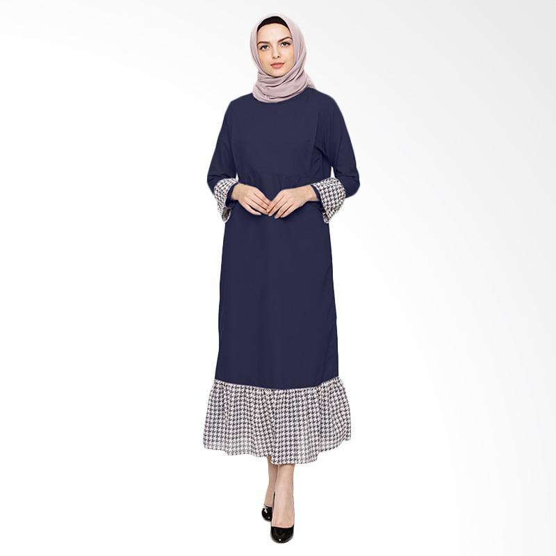 harga Just Mom KA104 KIA Dress Gamis Menyusui - Navy Blibli.com