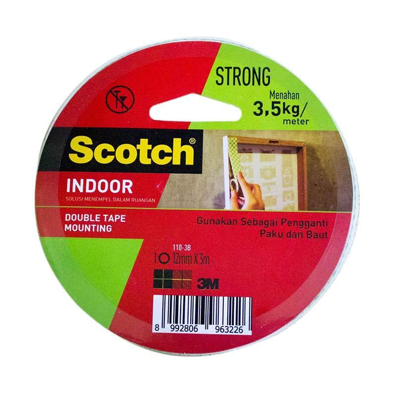 3M 110 - 3B Scotch Mounting Double Tape [12 mm x 3 mm]