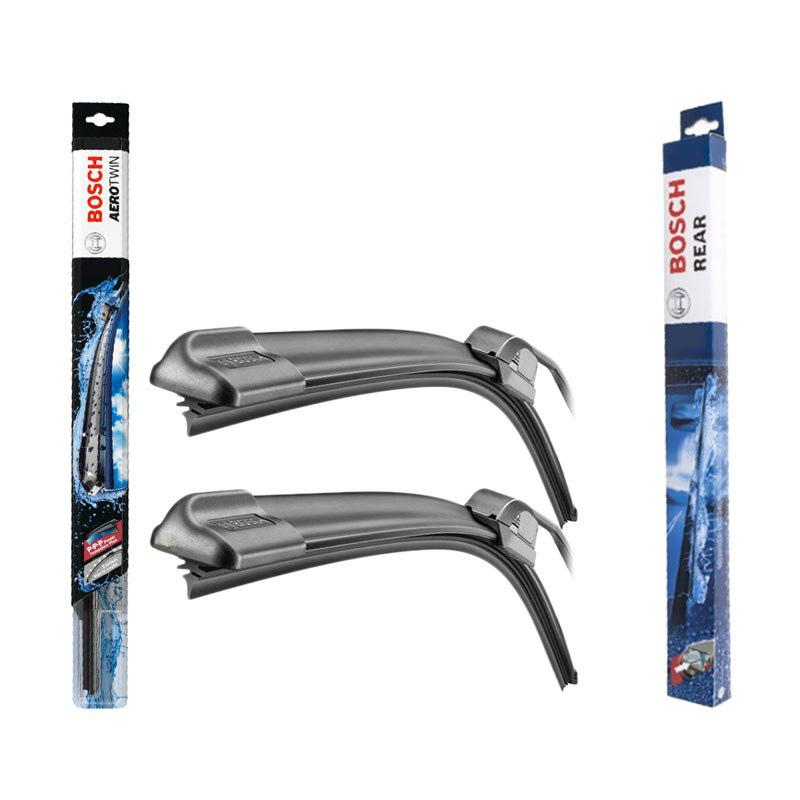 Bosch Aerotwin Wiper for New Jazz 2014 [3 Pcs/ Kanan Kiri Dan Belakang]