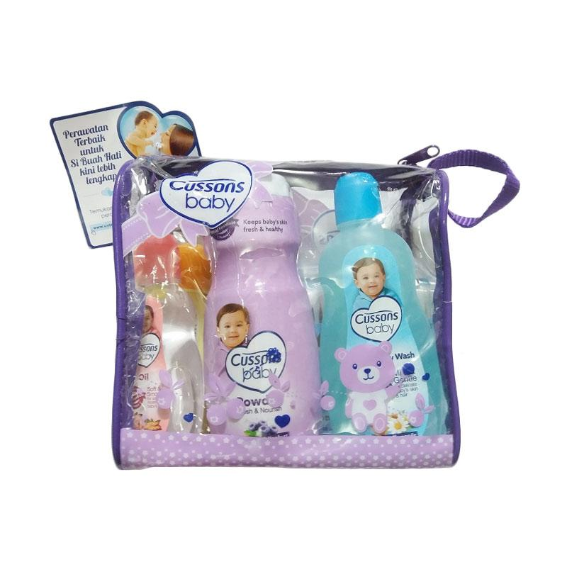 Cussons Baby Medium Bag - Ungu