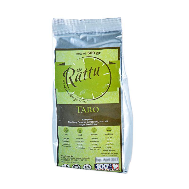 Rattu Beverage Taro Minuman Instan [500 g]