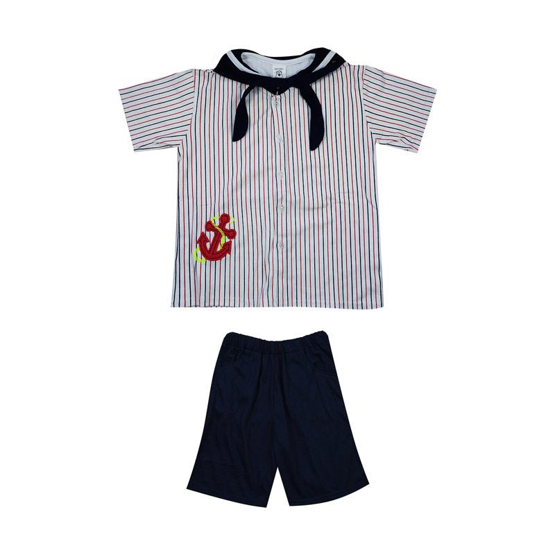 harga MacBear Sailor Stripe Jangkar Kids Baju Anak Setelan Blibli.com