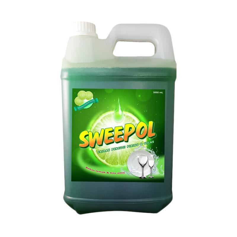Sweepol Lime Dish Wash Sabun Pencuci Piring [5 L]