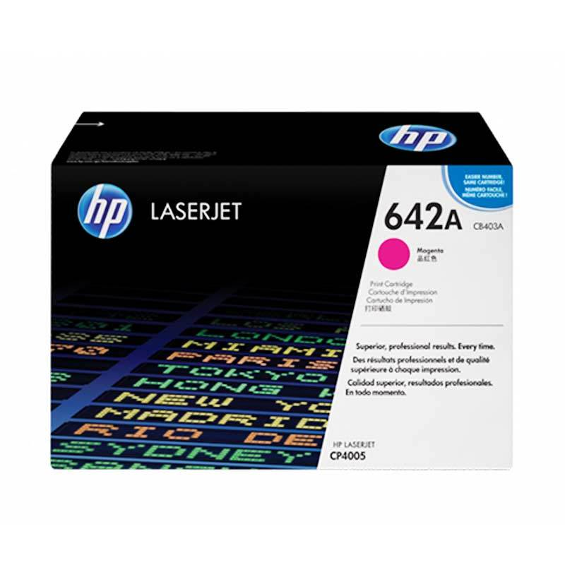 harga HP 642A Original LaserJet Toner Cartridge - Magenta Blibli.com