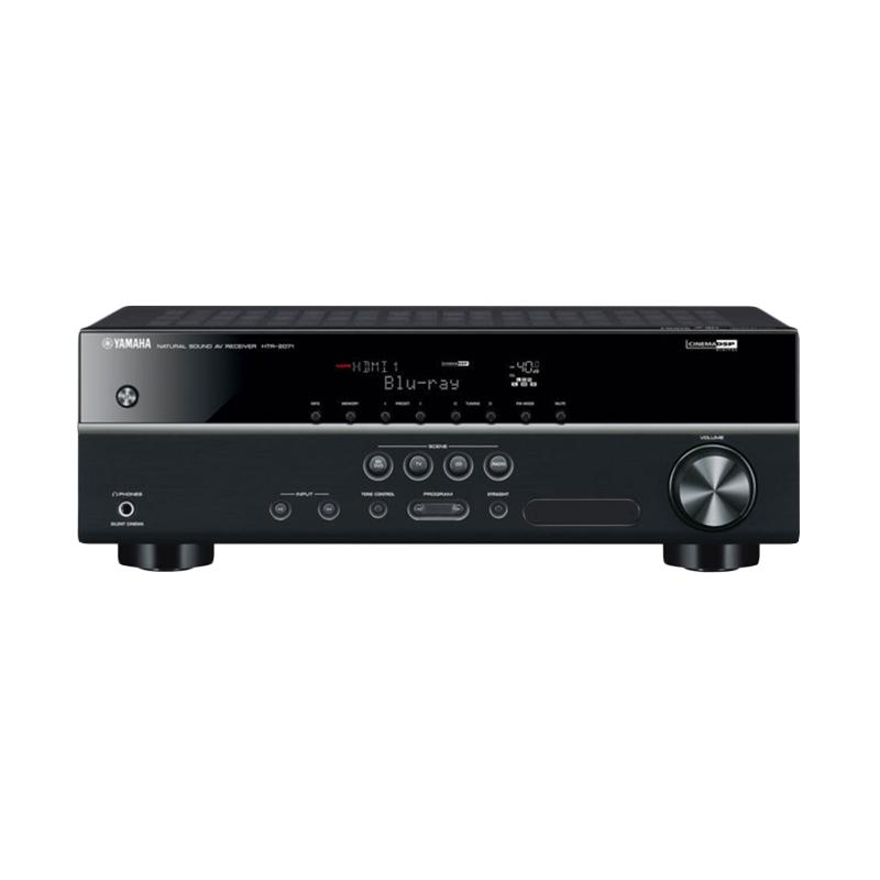 Yamaha Music Indonesia HTR-2071 AV Receiver [5.1 Chanel]