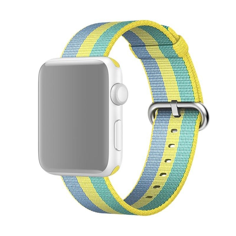 LOLLYPOP Nylon Canvas Strap Band for Apple Watch